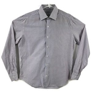 Loro Piana 16 Standard Cuff Dress Shirt
